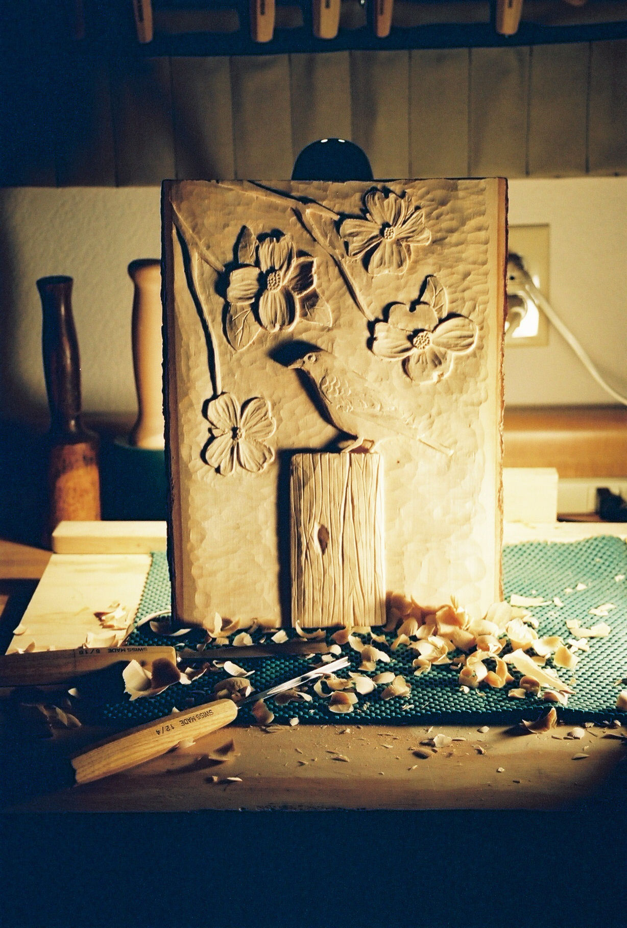 woodcarving relief