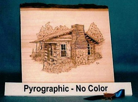 Pyrography award 1st place