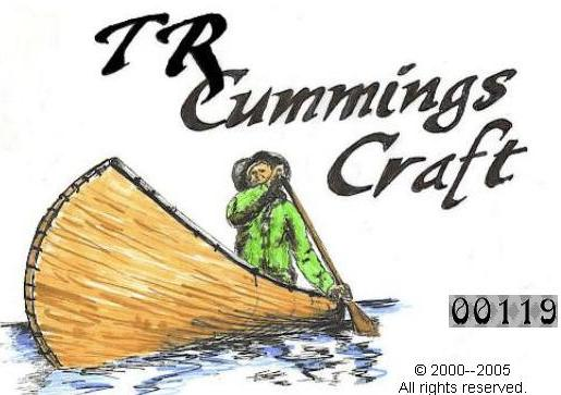 Hand crafted Canoes & More Timothy R. Cummings