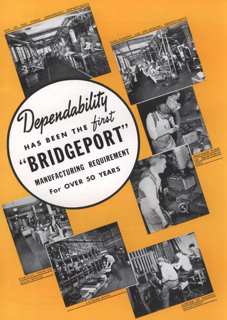 Bridgeport 1953 catalog