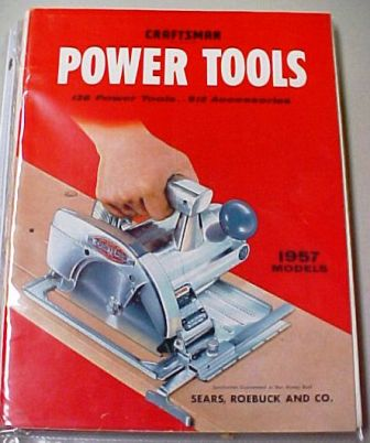 Sears Craftsman 1957 tool catalog