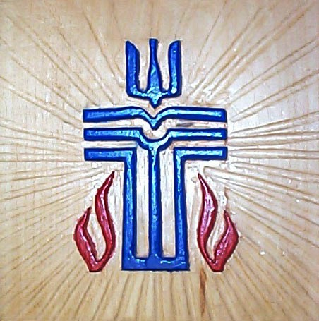 Cross relief carving